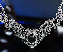vintage crystal statement necklace images She lian vintage womens crystal prom costume jewelry bib statement jpg