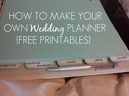 free wedding planner binder sleepless in diy country how to make your own wedding