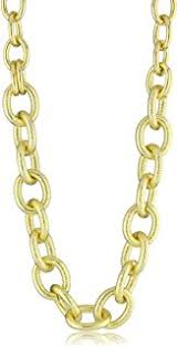 1ar by unoaerre 1ar by unoaerre 18k gold plated classic link bracelet