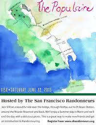 San Francisco Bike Map May 2013 Boyz On The Hoods