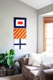 painted nautical signal flags for boys room decor u2022 whipperberry