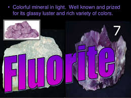 types of minerals earth science lesson powerpoint