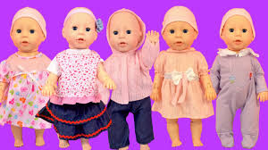 Dolly And Me Clothing Baby Annabell Baby Dolls Put On New Clothes How To Dress Up Baby