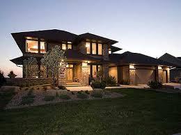 plan w14469rk prairie style home plan e architectural design