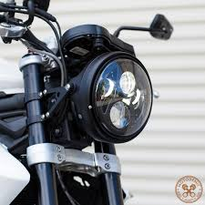 Dirt Bike Led Light Bar by 7 Inch Led Headlight Evo 2 Man This Looks Good And It U0027s E Marked