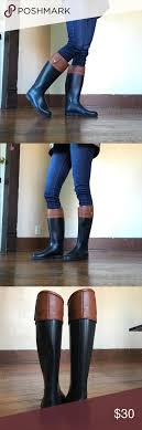 dirty riding boots dirty laundry rainstorm rain boots size 8 5 rain boot laundry