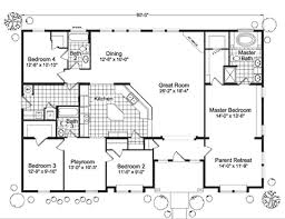 5 Bedroom Manufactured Home Floor Plans Modular Home Floor Plans 4 Bedrooms Fuller Modular Homes