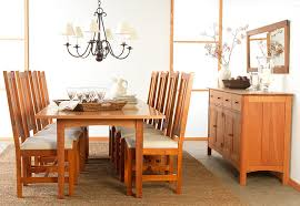 Shaker Dining Room Furniture Modern Shaker Dining Room Set Vermont Woods Studios