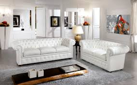 White Chesterfield Sofa by Chesterfield Sofa Leather 2 Seater White Chester Bianco