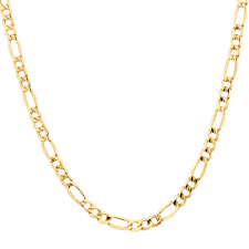 figaro gold necklace images 50cm 20 quot figaro chain in 10kt yellow gold jpg