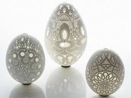 decorated ostrich eggs for sale an ode to easter artistry