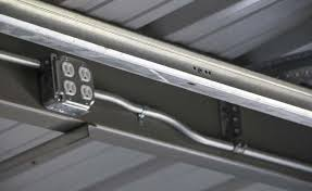 turn porch light into outlet steel building electrical conduit lighting installation