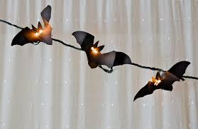 bat light garland diy the lala