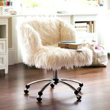 fur chair cover faux fur desk chair cover whimsical faux fur office chair makeover