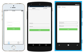 xamarin android set layout build a native android ui ios ui with xamarin forms xamarin