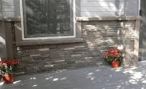 Faux Stone Column Wraps by Faux Stacked Stone Brick Texas Home Exteriors