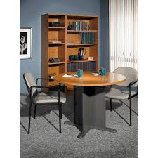 amazon com bush furniture 42 inch round conference table kitchen