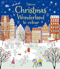 christmas wonderland colour u201d usborne books