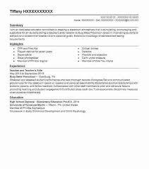 Sample Resume For Assistant Teacher In Preschools by Pre K Teacher Resume Commercetools Us