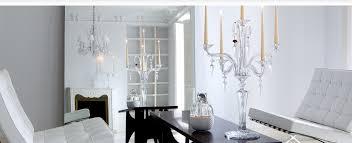 candelieri cristallo i candelabri di cristallo di baccarat pi禮 eleganti