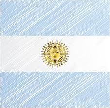 argentina flag vector illustration royalty free cliparts vectors