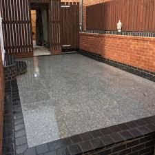 silver granite sawn flamed 4 sizes calibrated 18 9 m2 paving