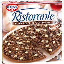 pizza chocolat dr oetker ristorante 100 plaisir arrive en