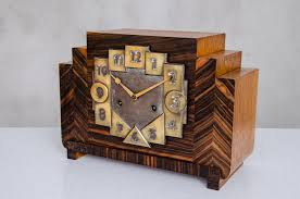 Mantle Piece Clock Art Deco Mantle Clock 1930s For Sale At Pamono