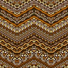 pattern with ethnic ornaments vector free