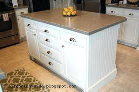 Base Cabinets For Kitchen Island Articles With Kitchen Island Made With Base Cabinets Tag Kitchen