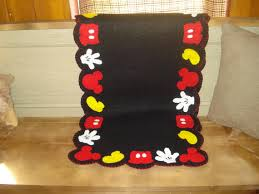 Mickey Mouse Rugs Carpets Disney Kitchen Rug Envialette