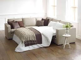 living room microfiber small sectional sleeper sofa in granite