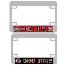 san diego state alumni license plate frame ohio state buckeyes license plate frame motorcycle bucknut