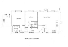 Cottage Floor Plan by 1 Moatside Cottages Floor Plan Newtimber Holiday Cottages