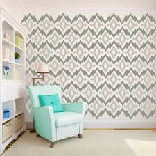 Wall Decals Patterns Color The by Ikat Tribal Pattern U2013 Dana Decals