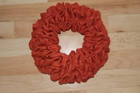 crochet halloween wreath diy burlap pumpkin fall wreath the wreath depot
