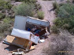jeep camping trailer camper trailer abandoned at saguaro lake rolls ohv