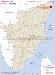 World Map Of India by Chennai Location Map Where Is Chennai
