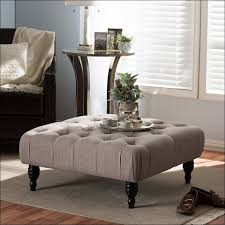 Upholstered Ottoman Coffee Table Living Rooms Design Amazing Upholstered Coffee Table Diy Tufted