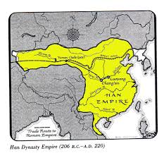 Blank Ancient China Map by The Qin Dynasty Map Ancient China Maps The Map Of The Qin Emperor