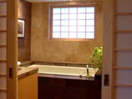bathroom white rectangle japanese soaking tub with marble wall