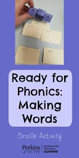 Writing System For The Blind 364 Best Beginning Braille Readers Images On Pinterest Visual