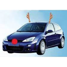 reindeer antlers for car christmas car reindeer costume antler truck suv decorating kit