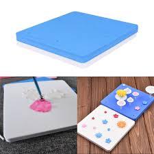modelisation cuisine 2 pcs ensemble 12 trous fondant gâteau tapis éponge pad cuisine
