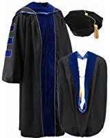 doctoral gown graduationforyou doctoral gown with velvet and gold