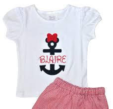 minnie mouse monogram minnie mouse disney cruise anchor monogrammed shirt or
