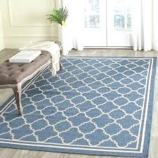 Outdoor Shag Rug New Outdoor Shag Rug Blue Beige Trellis Indoor Outdoor Rug Indoor