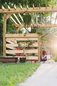 7 diy yard and garden projects pergola porch swing small cabin