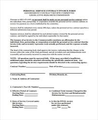 contract invoice 34 invoice form examples it contractor invoice