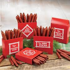 meat and cheese gift baskets smokehouse beef sticks beef figi s